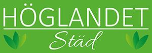 Höglandet Städ Logotyp